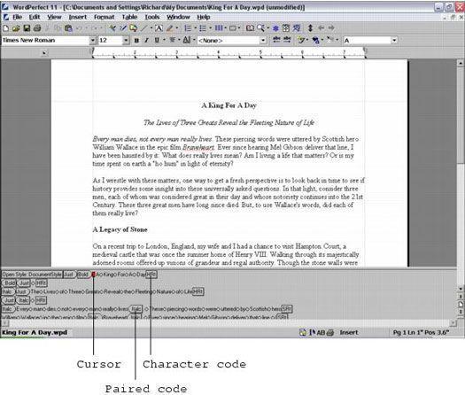 códigos de aparência estranha estão à espreita no seu documento.