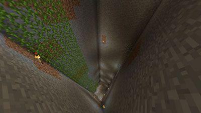 A pedreira clássico, com as videiras para subir e descer