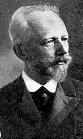 """Peter Ilyich Tchaikovsky, o melhor dos compositores românticos russos. [& Lt; i & gt; Fonte: criativa""""largura ="""" 269"""
