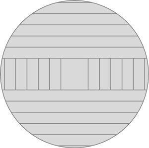 Plain-serradas resultados de moagem em placas planas-serrada e rift-serrada.
