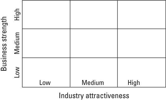 A Matrix Crescimento GE-McKinsey.