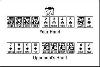 Às vezes você pode adicionar cartões de combinações depois que seus golpes oponente.